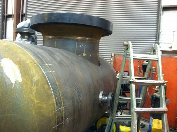 Shop Fabrication CWI Vessel Inspection